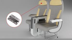 顧客事例 Geven - 航空機座席の軽量化革新的なヒンジ技術